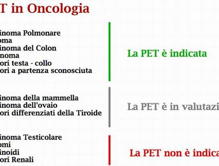 PET in Oncologia
