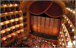 Il palcoscenico del Teatro Massimo di Palermo