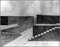 Adolphe Appia: bozzetto di scena formato da soli elementi praticabili. Fonte: Mode, images, pop culture
