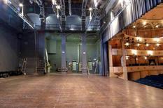 Il piano inclinato del palco. Fonte: Iteatri