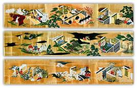 Emakimono, The tale of Genji, 1200 circa. Fonte: Pagliano A., Fridericiana 2009