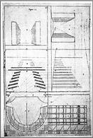 Andrea Pozzo, Perspectiva pictorum et architectorum, 1693. Fonte: A. Pagliano, Il disegno dello spazio scenico, Hoepli 2002