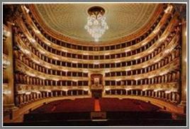 Teatro Alla Scala di Milano: la sala e il palco reale