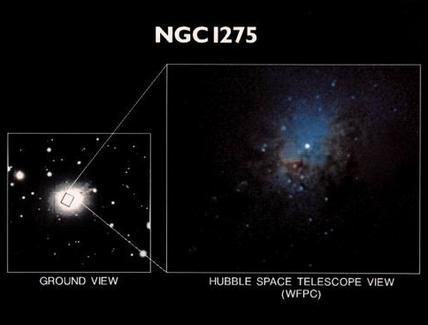 Nuclear region of some nearby Seyfert galaxies. NGC1275