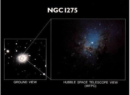 Nuclear region of some nearby Seyfert galaxies. NGC1275
