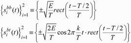Equazioni dell'esempio