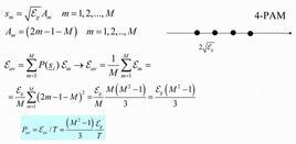 Calcolo della P(e) per segnali PAM