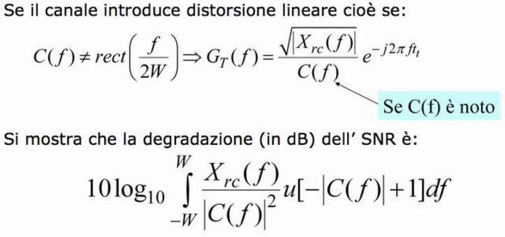 Degradazione dell'SNR