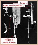Figura 3. Microscopio di van Leeuwenhoek (1684)