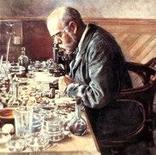 Figura 6. Robert Koch (1843-1910) grande microbiologo clinico