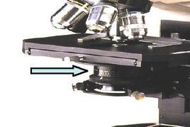 Fig. 5. Condensatore con diaframma ad iride