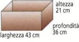 Con quante cifre significative sono state misurate le dimensioni di questa scatola?