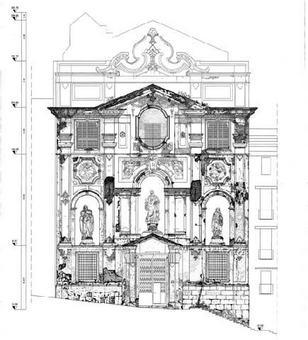 Fonte: grafici elaborati nell'ambito del Laboratorio di Restauro dell'Architettura prof. Renata Picone, A.A.2005-2006