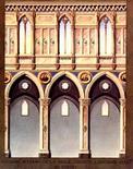 F. Travaglini, progetto della navata della chiesa di San Domenico Maggiore a Napoli, 1853