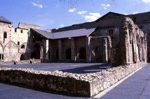Monastero di Santa Maria de Carracedo. Il chiostro, 2005