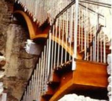 Monastero di Santa Maria de Carracedo. Una scala d'ingresso