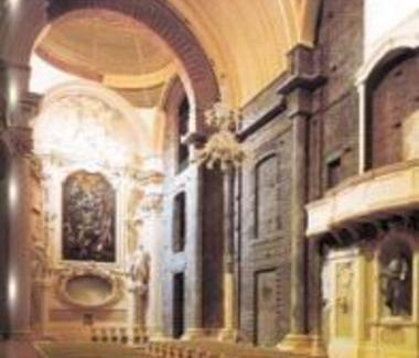 Chiusura delle lacune e continuità dei volumiRipristino degli altari settecenteschiConservazione degli inserti anni '50 (P. Cervellati)