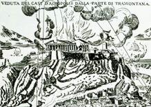 Rappresentazione dell'esplosione del 1687