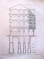 Camillo Guerra, progetto di sottofondazione di palazzo Gravina a Napoli, 1916-26
