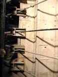 Le cerchiature di un pilastro che sostiene la cupola, 2005