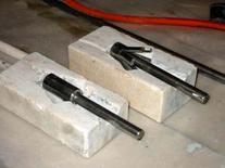 Il sistema di ancoraggio delle barre all'interno del paramento lapideo, 2005