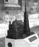 Vienna, modello tattile della Cattedrale