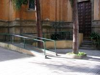 Firenze, Chiesa dei Sette Santi, rampa di accesso