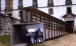 Tibaes, presso Braga (Porto), monastero di San Martino, rampa di accesso