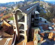 Castello di Rivoli, progetto di restauro di A. Bruno