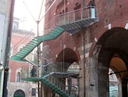 Palazzo della Ragione a Milano, progetto di restauro di M. Dezzi Bardeschi