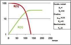 Figura 2 – Profili della figura 1 riportati in scala semilogaritmica.