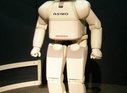 Honda Asimo. Uno dei più avanzati robot bipedi. Fonte: Wikipedia