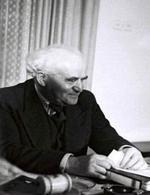 David Ben Gurion, primo ministro alla nascita dello Stato d'Israele