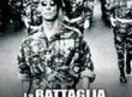 Locandina del celebre film di Gillo Pontecorvo, 1966