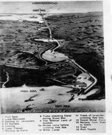 Il Canale di Suez in una cartolina d'epoca