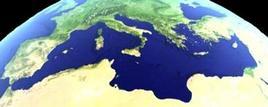 Il Mediterraneo visto dal satellite
