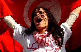 Manifestazione diritti delle donne in Tunisia. Fonte: Today