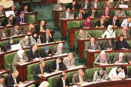 Esponenti di ennahda nell'assemblea costituente. Fonte: Wikipedia
