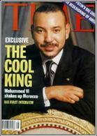 Mohammed IV ritratto sulla copertina della rivista Time