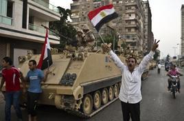 Violenza per le strade egiziane
