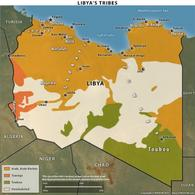 Libia's Trybes. Fonte: Stratfor