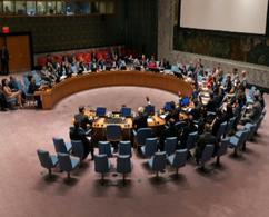 Riunione del Consiglio di Sicurezza delle Nazioni Unite