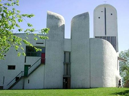 Le Corbusier, Cappella di Notre Dame du Haut, Ronchamp