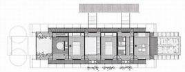 Casa a Pullach, pianta piano secondo