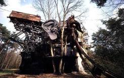 Tinguely, La grande testa del Ciclope, Milly-la-Forêt
