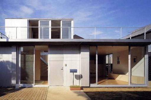 Toyo Ito, Sakura Josui House (Alluminium House), 2000