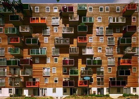 MVRDV, Edifici per abitazioni Wozoco, Amsterdam, 1994 – 1997