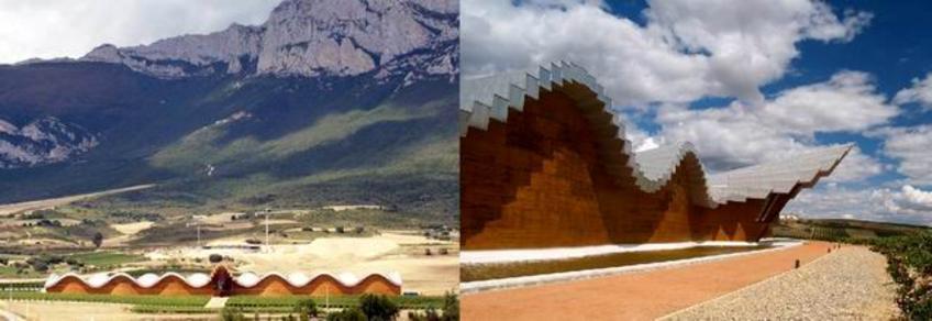 S. Calatrava, Cantine Ysios, Laguardia, 1999-2001. Copertura in alluminio, struttura in lamellare. Fonte: per gentile concessione di Architect Tour
