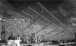 Il nodo di interscambio dell'aeroporto De Gaulle di Roissy di Paul Andreu e Peter Rice