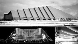 Nakano Olympic Memorial Arena. Progetto architettonico: Shigeru Ban e Kajima Design